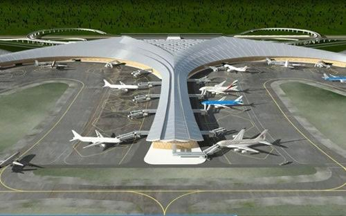 Long Thanh Airport lotus design criticised for high cost